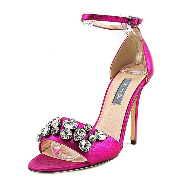 SJP Pandemonium Open Toe Synthetic Sandals