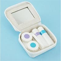 2.5 x 3 in. Contact Lens Kit, White