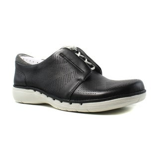 Clarks Womens Un Voltra BlackLeather Fashion Shoes Size 5.5