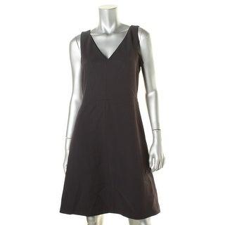 Tory Burch Womens Crepe Sleeveless Casual Dress - 6