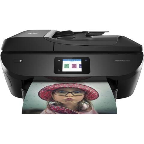 HP ENVY Photo 7858 All-in-One Printer (K7S08A) RENEWED - BLACK