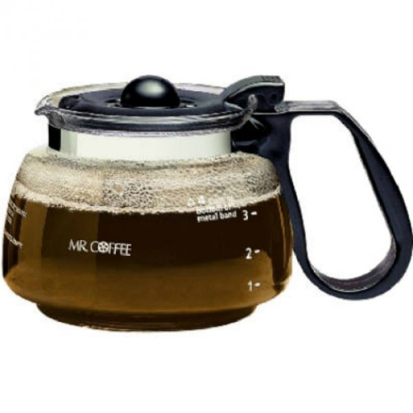 Mr Coffee Nd4 2 Replacement Decanter With Black Lid Handle
