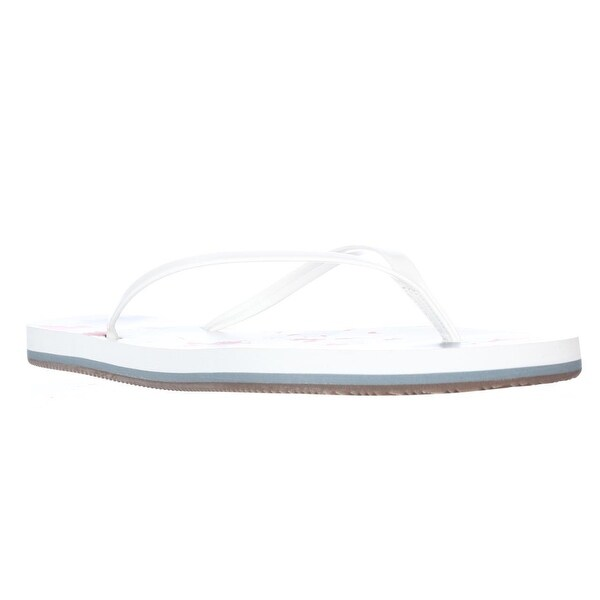 Splendid Firefly Flip Flop Slide Sandals, White - 9 us