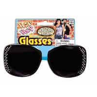 Hip Hop Black Costume Glasses