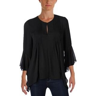 T Tahari Womens Kate Blouse Asymmetric Pintuck (3 options available)