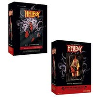 Hellboy Seed Of Destruction Book And Figure Set - multi