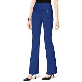 INC International Concepts Curvy Fit Bootcut Pants - 12