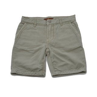 Boys Cargo shorts in green with adjustable waist (5 options available)
