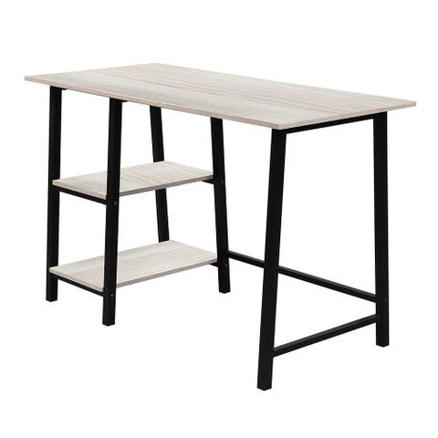 Merax Metal Frame Home Office Computer Desk with Wood Surface