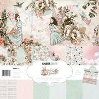 """Fairy Garden - Kaisercraft Paper Pack 12""""X12"""" 12/Pkg"""