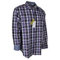 Robert Graham Men's Purple PUTIGNANO Plaid Classic Fit Button Down Shirt