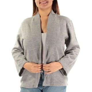 ANNE KLEIN $119 Womens New 2060 Gray Sleeveless Casual Sweater XL B+B