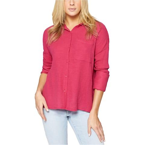 Sanctuary Clothing Womens Mod Button Up Shirt