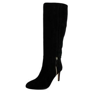 Nine West Vintage Women  Round Toe Suede  Knee High Boot
