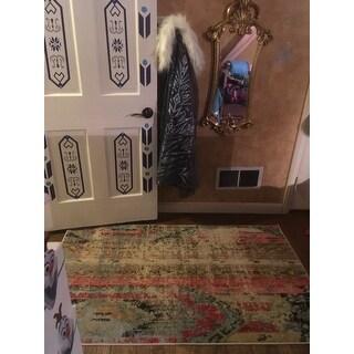 Safavieh Monaco Vintage Bohemian Multicolored Distressed Rug (3' x 5')