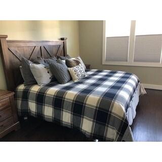 Madison Park Signature Urban Cabin Brown Cotton Jacquard Comforter Set
