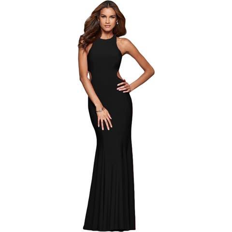 b3bd95bc869e Faviana Womens Evening Dress Prom Cut-Out
