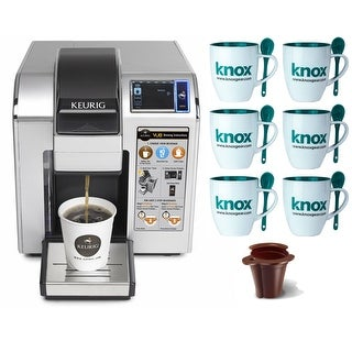 Keurig VUE V1200 Commercial Brewing System with K2V-Cup and 6 Mugs