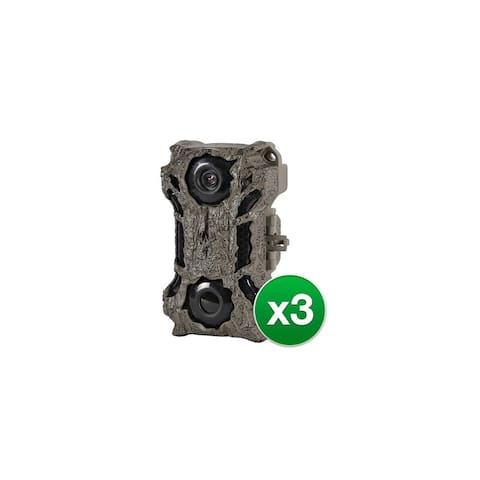 Wildgame Innovations Crush X20 Lightsout Trail Camera L20B20F-8 (3-Pack)