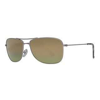 Ray Ban RB3543 029/6O Gunmetal Polarized Green Mirror Chromance Sunglasses - 59mm-16mm-140mm