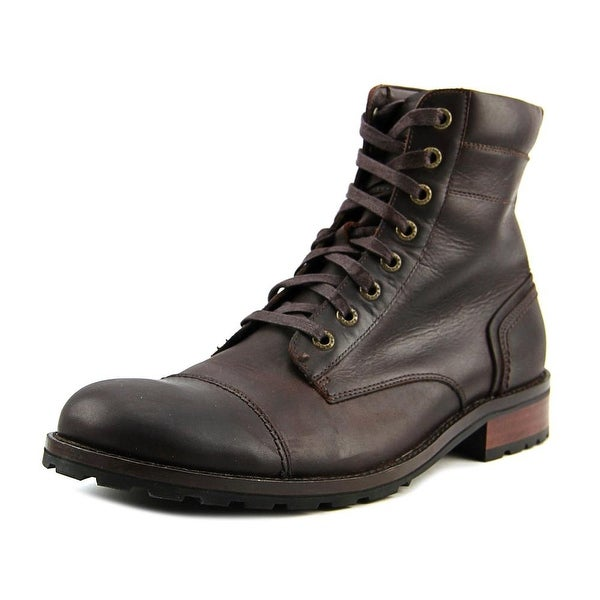 Wolverine Reese Men Cap Toe Leather Brown Boot