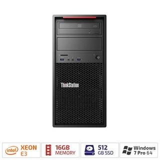 Lenovo 30BH0030US ThinkStation P320 Workstation w/ Windows 7 Pro (64-bit) & 16 GB DDR4 SDRAM