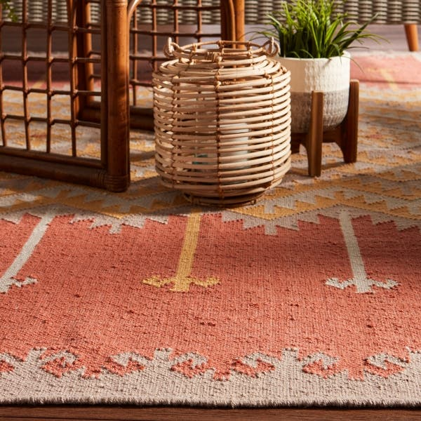 Sonoran Indoor Outdoor Geometric Area Rug Overstock 11110676