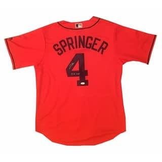 George Springer Autographed Houston Astros 2017 World Series MVP Signed Baseball Orange Jersey JSA|https://ak1.ostkcdn.com/images/products/is/images/direct/615e4ffcdb25a60c0c7bd1c6c961f7373510c1e2/George-Springer-Autographed-Houston-Astros-2017-World-Series-MVP-Signed-Baseball-Orange-Jersey-JSA.jpg?impolicy=medium