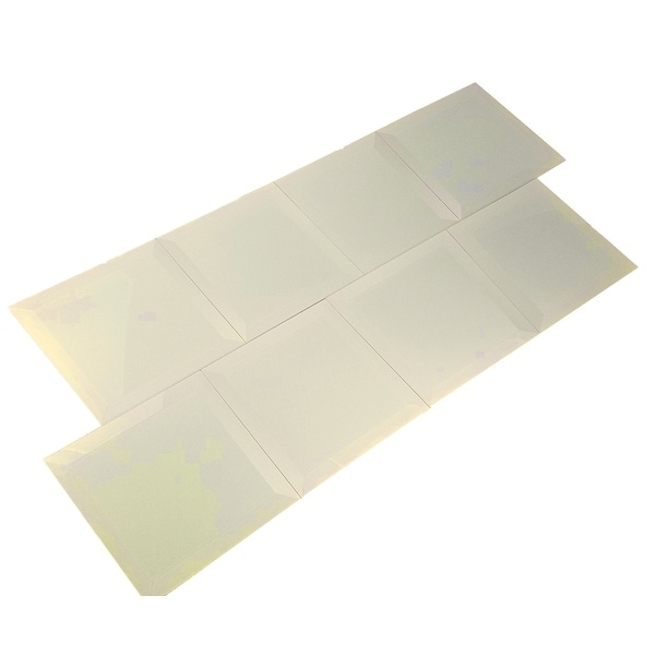 """Miseno MT-WHSFEG0808-CE Frosted Elegance - 8"""" Square Wall Tile - Glossy Visual - Beige"""