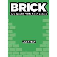 Standard CCG Size - Brick, Vile Green (100) SW