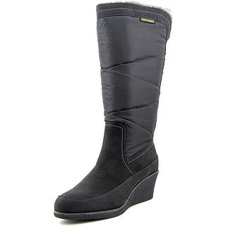 Hush Puppies Hilde Hyde W Round Toe Canvas Knee High Boot