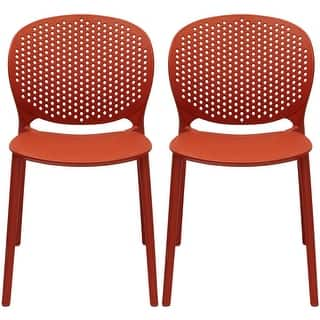Buy Orange Patio Dining Chairs Online At Overstock Our