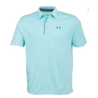 Under Armour UA Men's Tech Ribbed Golf Polo Shirt 1290140