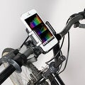Pilot Automotive Black Bike Mount Clamp Bracket Cell Phone Holder For Apple iPhone Device - Thumbnail 1