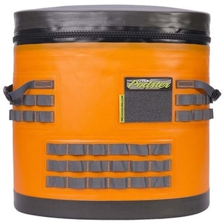 ORCA Podster Limited Edition Orange/Gray Cooler with Straps