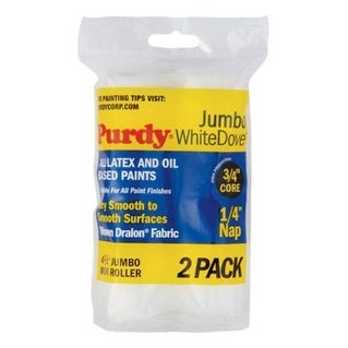 "Purdy 140624010 Jumbo Mini Roller, 4-1/2""W x 1/4"" Nap"