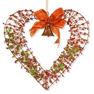 """16"""" Valentine Heart Decor - Red"""