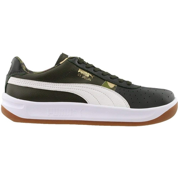 Shop Puma Mens gv speacial bmore Leather Low Top Lace Up