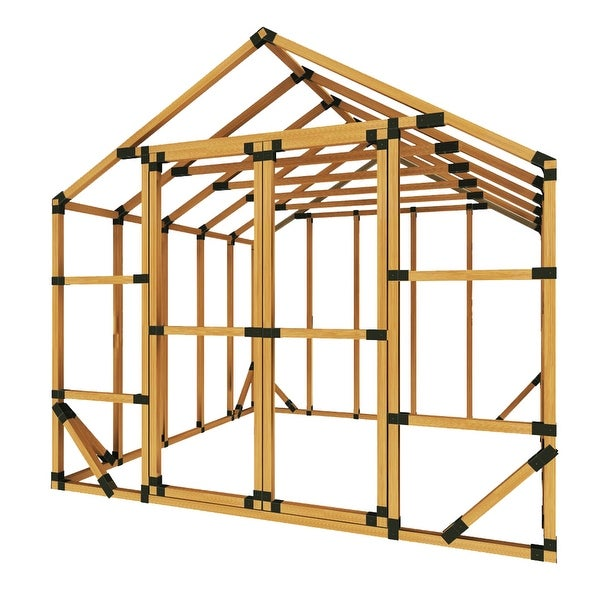 10X10 E Z Frame Greenhouse Or Storage Shed Kit ...