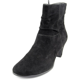 Aerosoles Red Light Women  Round Toe Synthetic Black Ankle Boot