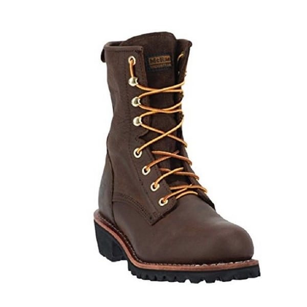 Mcrae Mens Unlined Nst Lace Up, Brown, 11.5W