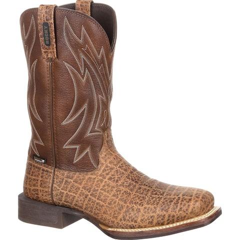 Rocky Dakota Ridge: Steel Toe Waterproof Pull-On Western Boot, #RKW0242