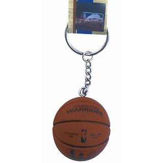 Golden State Warriors Mini Basketball Keychain Spalding NBA