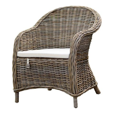 Key Largo Kubu Rattan Armchair