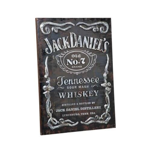 Jack Daniels JD-35508 Jack Daniel\'s Metal Wall Art - Free Shipping ...