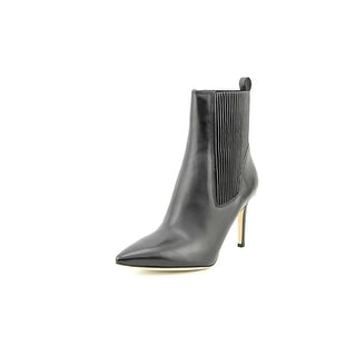 Via Spiga Corene Women Pointed Toe Leather Black Ankle Boot