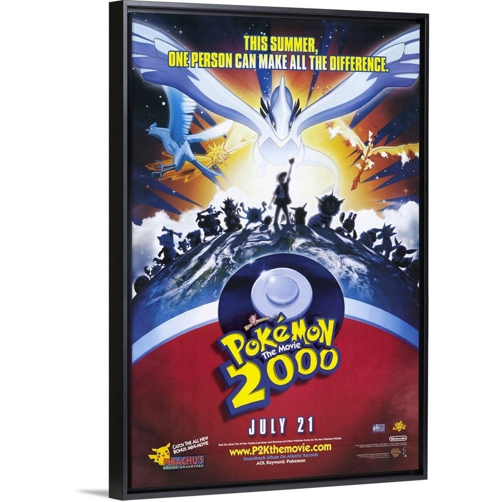 Shop Pokemon The Movie 2000 The Power Of One 2000 Multi