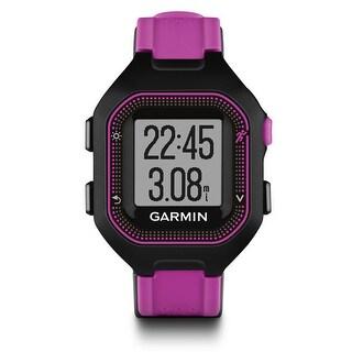 Refurbished Garmin Forerunner 25 black and Purple GPS Running Watch