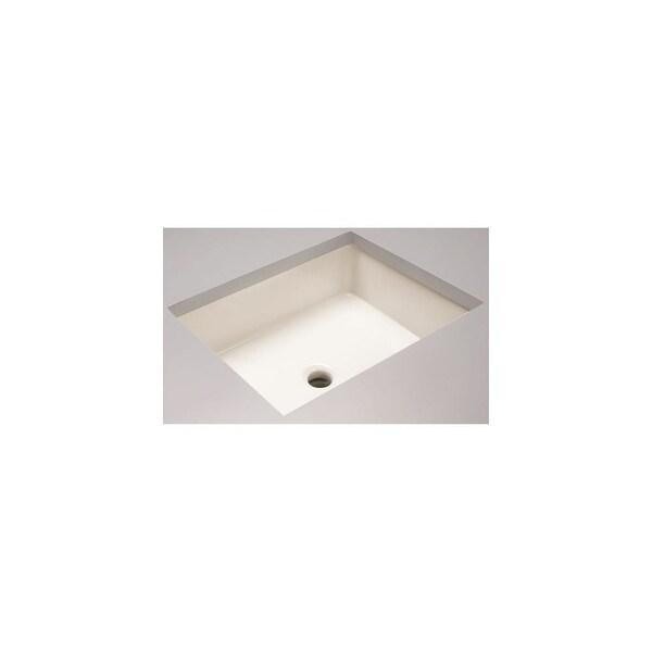 "Mirabelle MIRU1713G Destin 20"" Rectangular Vitreous China Undermount Bathroom Sink - White"