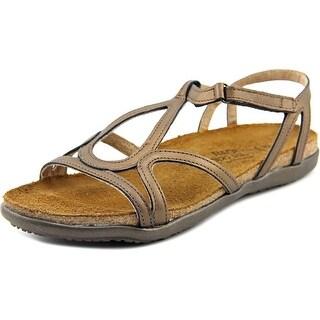 Naot Dorith Women Open-Toe Leather Slingback Sandal